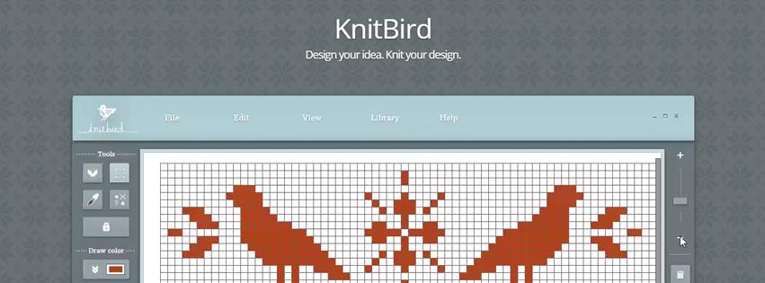 Knitbird Free Software For Designing Knitting Charts And Patterns